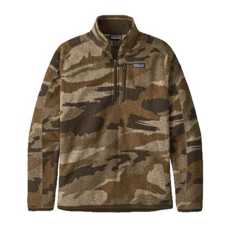 Patagonia Better Sweater Quarter Zip Men's Camo