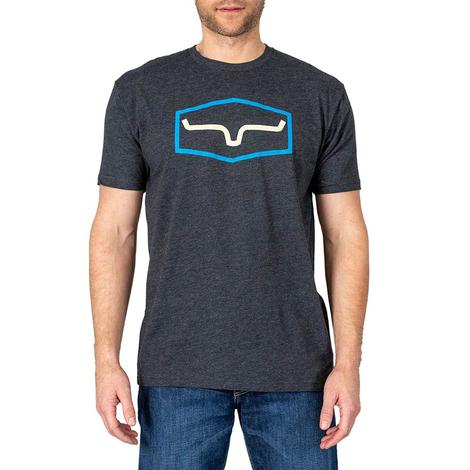 Kimes Ranch Replay Men's Tee in Charcoal