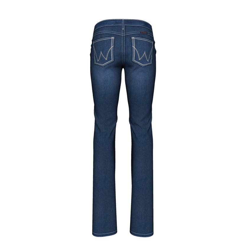 Wrangler Briley Q- Baby Boot Cut Midrise Women's Jeans