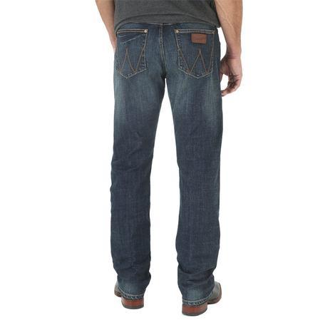 Wrangler Retro Slim Bozeman Wash Straight Leg Men's Jeans