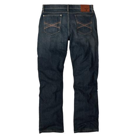 Wrangler 42 Vintage Bootcut Men's Jeans