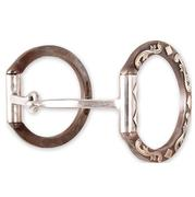 Classic Equine Sherry Cervi Diamond D Ring Square Snaffle Bit