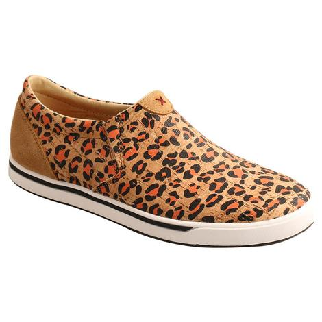 Twisted X Leopard Print Women's Slipon Shoes
