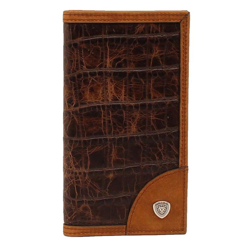 Ariat Rodeo Two Tone Men's Wallet