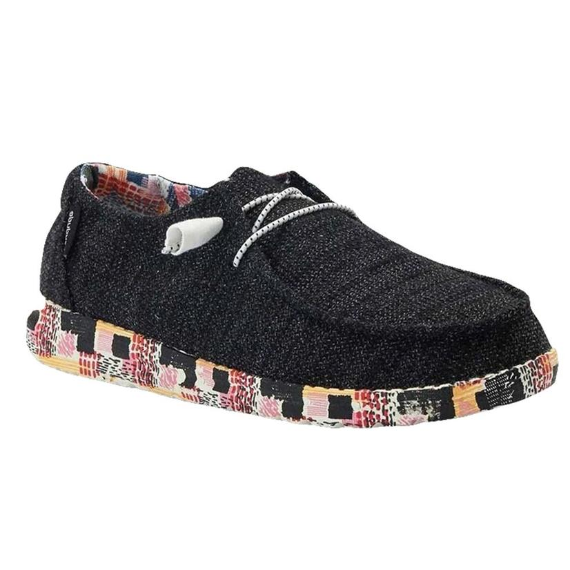 Hey Dude Wendy Black Geo Shoe
