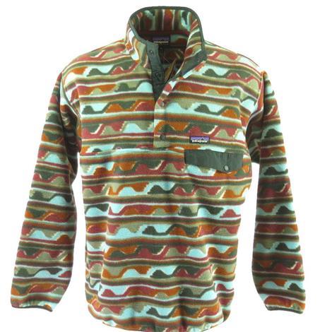 Patagonia Synchilla Snap-T Men's Pullover Delta Cinder