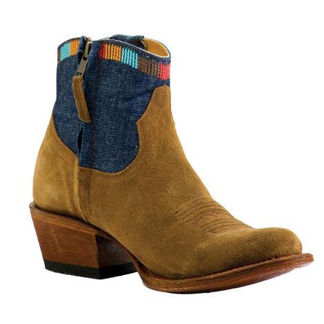 Macie Bean Blue Jean Baby Shortie Boots