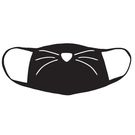 Facemask - Kitty Whiskers