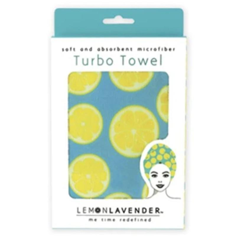 Lemon Lavender Turbo Towel CITRUS