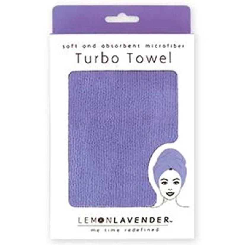 Lemon Lavender Turbo Towel VIOLET