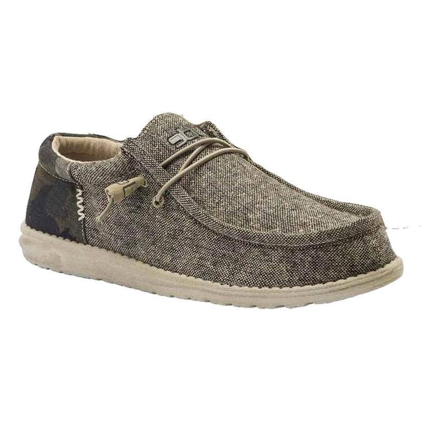 Hey Dude Wally Funk Camo Bruno Men's Shoes