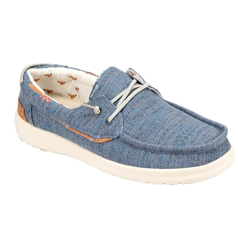 Hey Dude Welsh Chambray Blue Men's Shoes