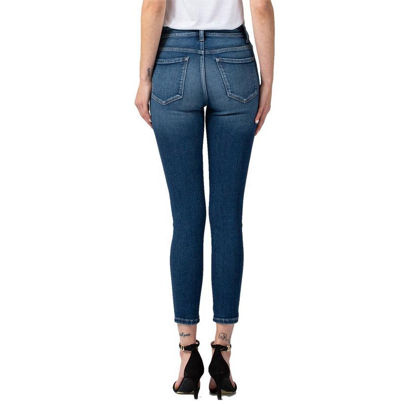 Vervet Highrise Crop Skinny Jeans