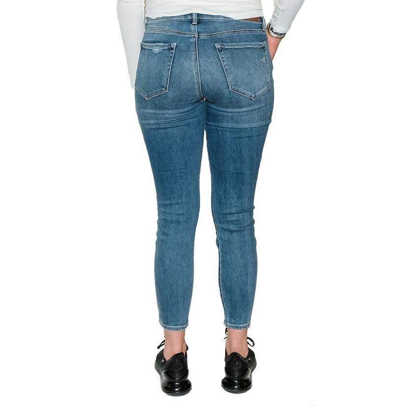 Hidden Jeans Dark Wash High Rise Super Stretch Skinny