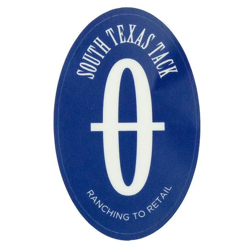 Stt Blue Oval Sticker