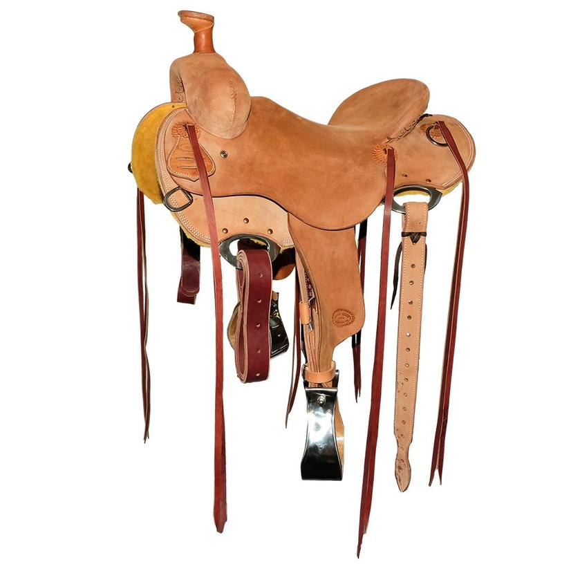 Stt Dayworker Stripdown Full Roughout Ranch Roper Saddle