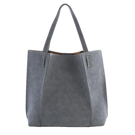 Blair Tote in Steel by Shiraleah