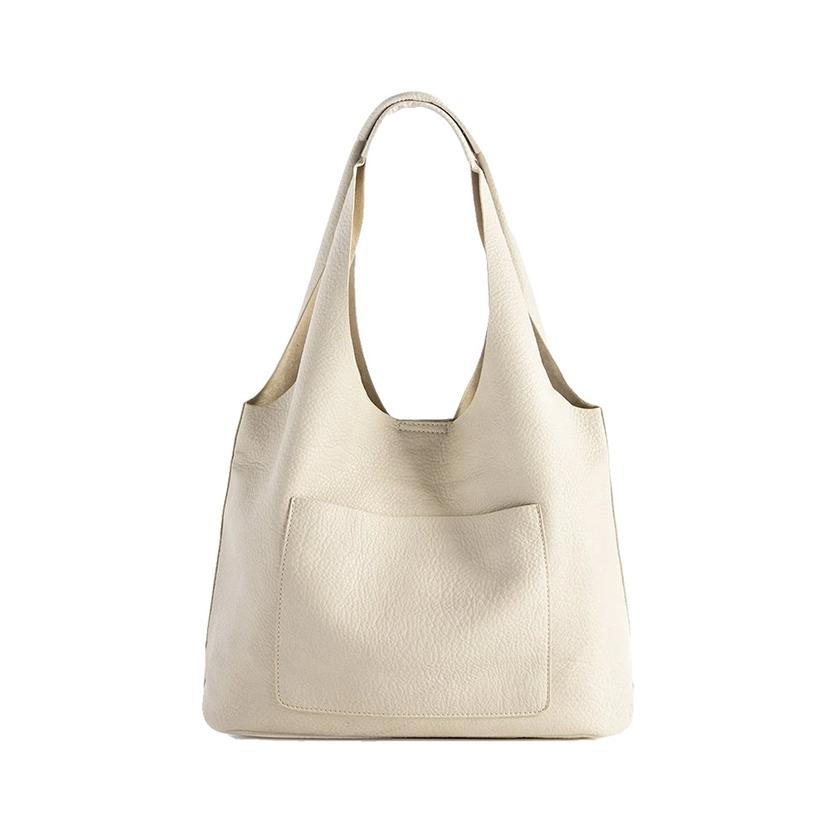 Shiraleah Arden Ivory Day Tote