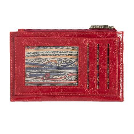 Shiraleah Harper Card Case Red
