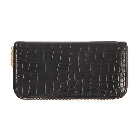 Shiraleah Carter Zip Wallet in Black