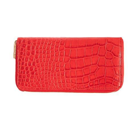 Shiraleah Carter Zip Wallet in Red