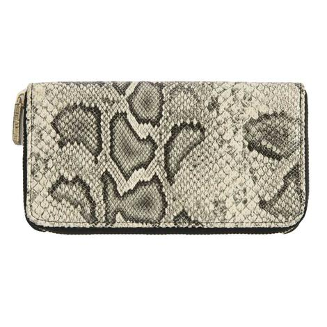 Shiraleah Carter Zip Wallet Grey Snakeprint