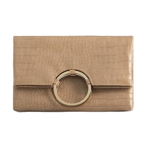 Shiraleah Carter Fold Clutch in Blush