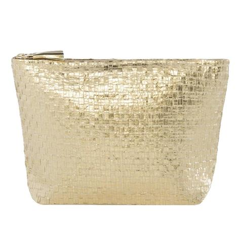 Shiraleah Adora Zip Pouch in Gold