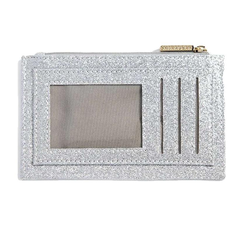Shiraleah Sparks Card Case In Silver