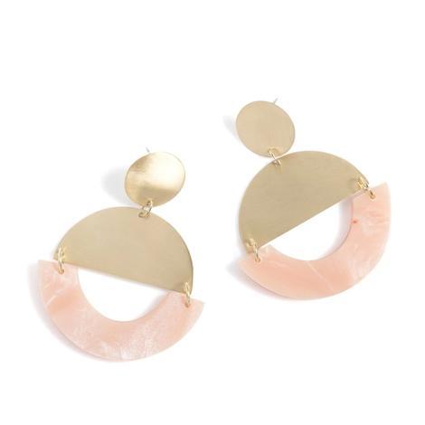 Shiraleah Nicole Womens Earrings in Rose