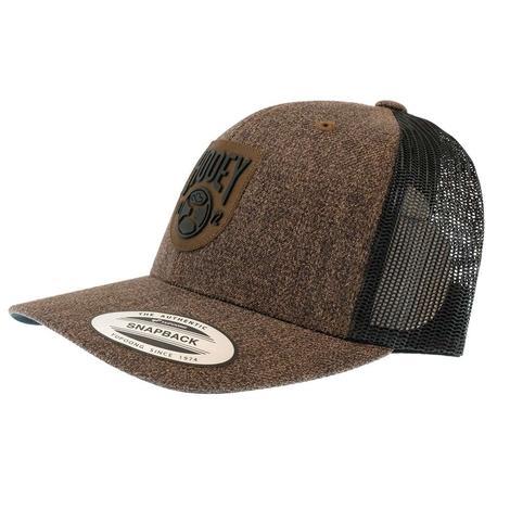 Hooey Brown Black Meshback Cap