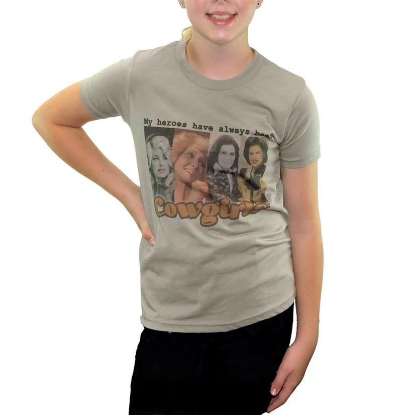 My Heroes Have Always Been Cowgirls - Toddler Size Tee