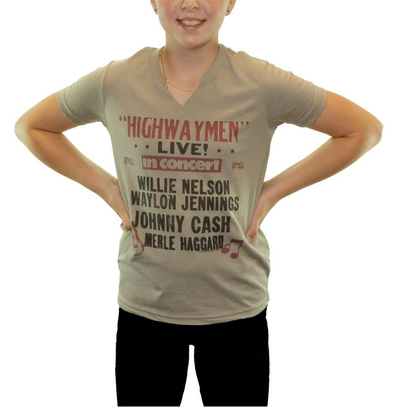 Youth Girl's Highwaymen Live Tee