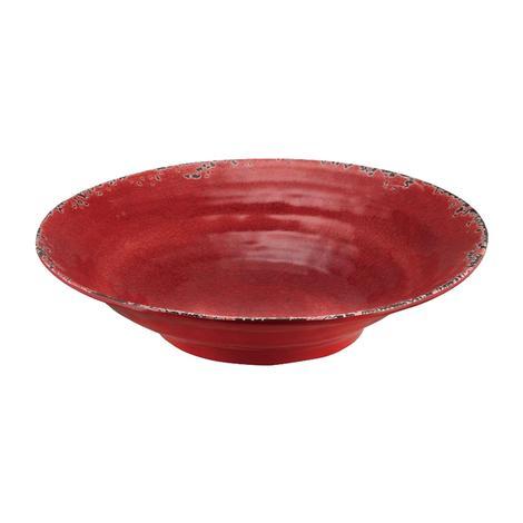 Crackle Melamine Red 16