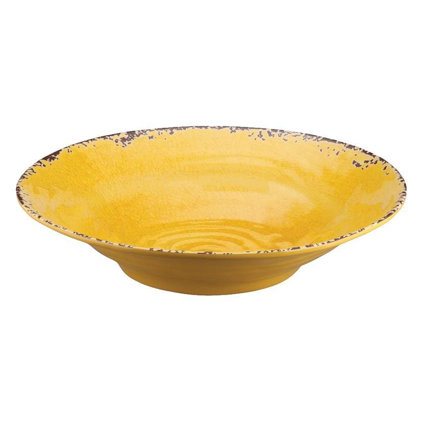 Crackle Melamine Yellow 16