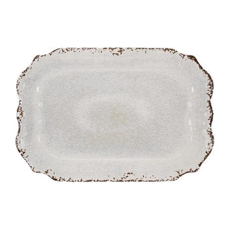 Crackle Melamine Cream 20
