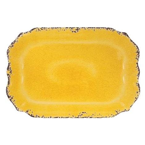 Crackle Melamine Yellow 20