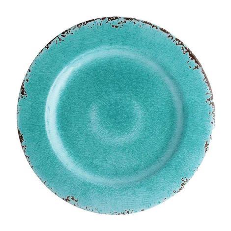 Crackle Melamine Turquoise 11