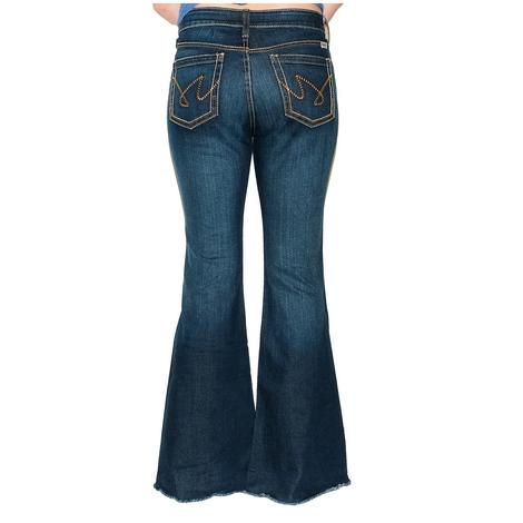 Cruel Girl Hannah Slim Fit Flare Women's Jeans