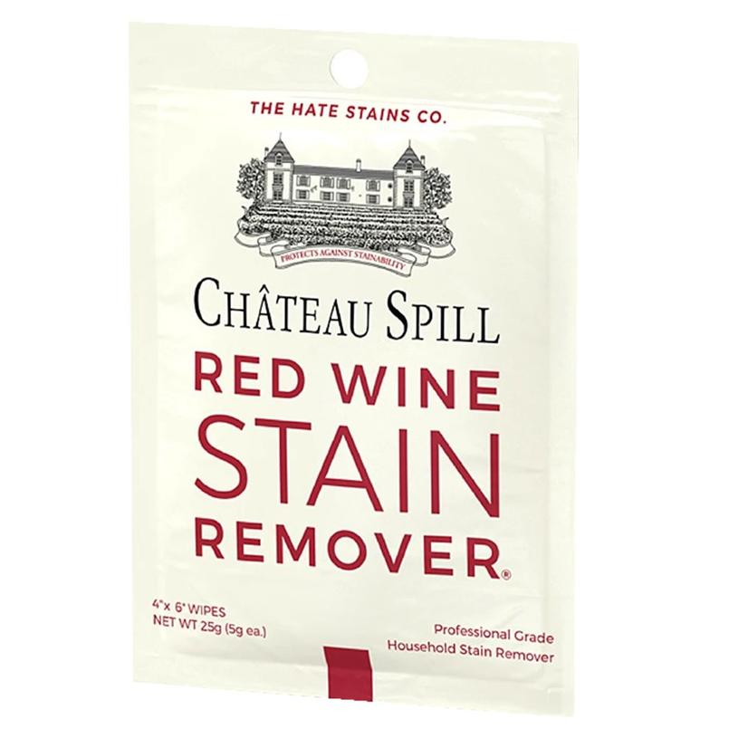 Chateau Spill Red Wine Stain Remover Singles