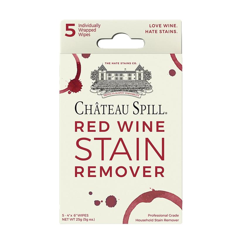 Emergency Stain Remover Chateau Spill Red Wine Stain Remover 5pack