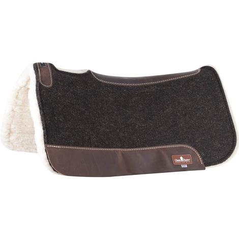 Classic Equine ESP Fleece Bottom Saddle Pad