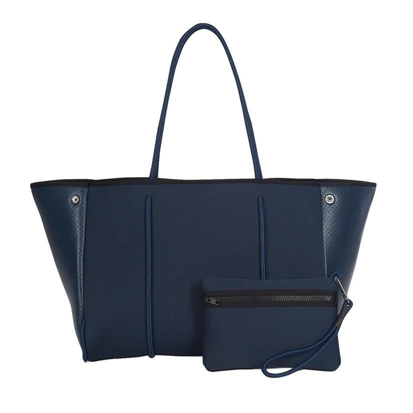 Greyson Acme Women's Handbag By Haute Shore In Navy Charcoal Marle
