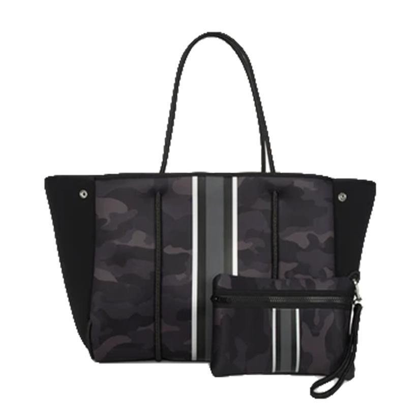 Haute Shore Greyson Elite Women's Handbag In Black Camo
