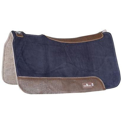 Classic Equine Zone Series Suede Top Pad NAVY
