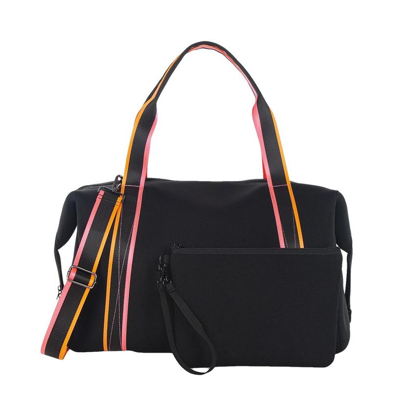 Haute Shore Morgan Tour Weekender Bag In Black