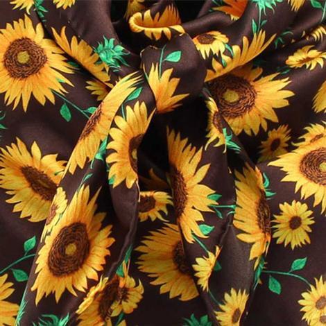 Wild Rag in Sunflower 33x33