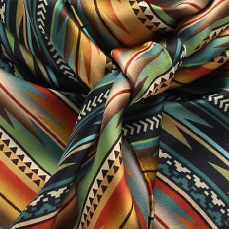 Wild Rag Silk Southwest Stripe 33x33