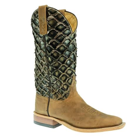 Anderson Bean Dune Rough Rider with Boiler Big Bass Top Men's Boots