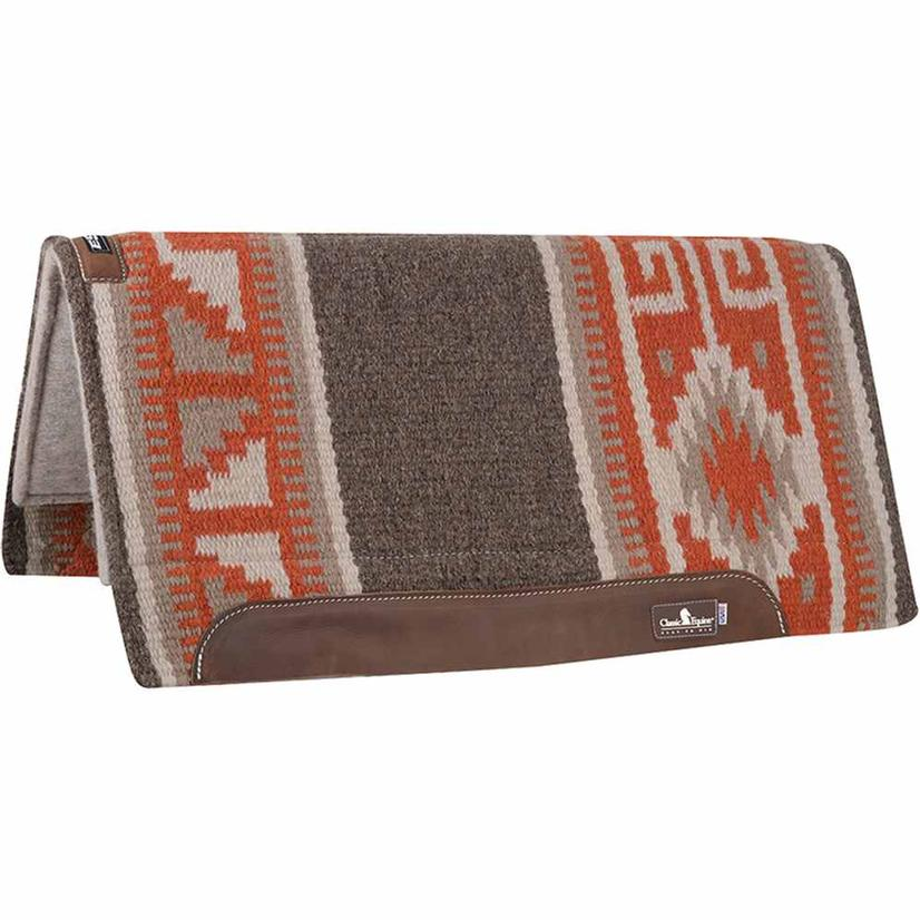 Classic Equine Wool Top Saddle Pad SL/OR